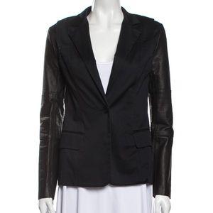 NWT Cut25 Yigal Azrouël Leather Jacket NEW!